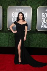 Catherine Zeta-Jones At 78th Annual Golden Globe Awards held at the Beverly Hilton Hotel in Beverly Hills