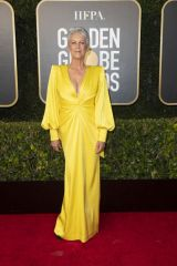 Jamie Lee Curtis At 78th Annual Golden Globe Awards held at the Beverly Hilton Hotel in Beverly Hills