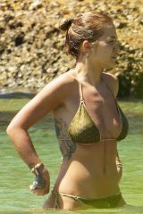 Rita Ora In Bikini at the beach in Sydney Harbor