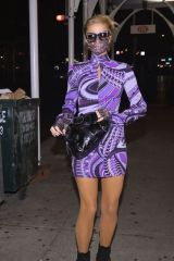 Paris Hilton Out in NYC