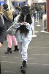 Vanessa Hudgens Arriving at LAX airport in Los Angeles
