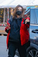 Emily Ratajkowski Steps out in chilly New York