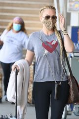 Shanna Moakler Seen at LAX