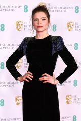 Sophie Cookson At 2021 BAFTA Film Awards in London