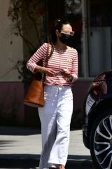 Jordana Brewster Spotted running errands in Santa Monica