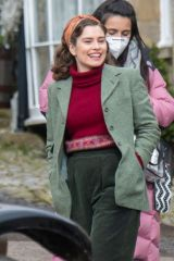 Rachel Shenton Filming 'All Creatures Great and Small' Season 2 in North Yorkshire