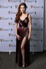 Anna Kendrick At 74th British Academy Film Awards - Arrivals, Los Angeles