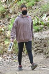 Ashley Tisdale Goes on a hike in Los Feliz