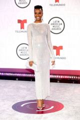 Zozibini Tunzi At Latin American Music Awards, Arrivals, Sunrise, Florida, USA