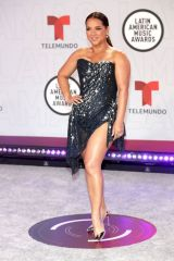 Adamari Lopez At Latin American Music Awards, Arrivals, Sunrise, Florida, USA