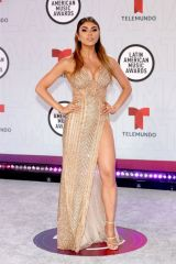 Paula Galindo At Latin American Music Awards, Arrivals, Sunrise, Florida, USA
