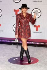 Sofia Reyes At Latin American Music Awards, Arrivals, Sunrise, Florida, USA