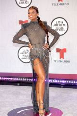 Zuleyka Rivera At Latin American Music Awards, Arrivals, Sunrise, Florida, USA