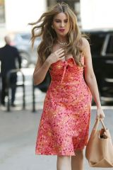 Sofia Vergara Arrives at America's Got Talent taping in Los Angeles