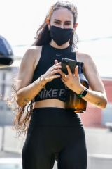 Rumer Willis Pictured carrying what looks like a beer growler