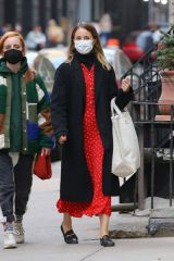 Dianna Agron Shopping in NY