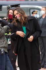 Mariska Hargitay and Peter Scanavino Film SVU Special Victims in NYC