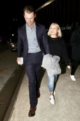 Alli Simpson Spotted leaving the Southport Aquatic Centre