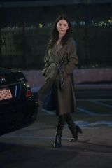 Catherine Zeta-Jones On set of 'Prodigal Son' in New York