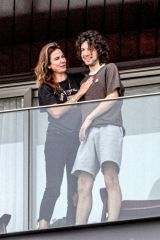 Luciana Gimenez Spends some quality time with her son Lucas Maurice Morad Jagger on Mother's Day in Rio de Janeiro