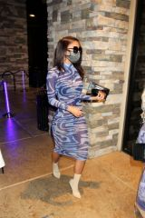 Sydney Chase Arrives at Blume Restaurant in Las Vegas
