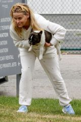 Reese Witherspoon Out with her dog in Los Angeles