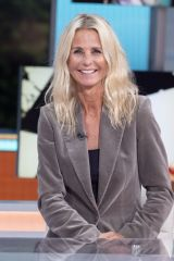 Ulrika Jonsson At 'Good Morning Britain' TV Show, London, UK