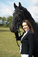 Kimberleigh Gelber Horse riding in Richmond Park, London