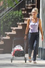 Paulina Porizkova Is spotted in New York City