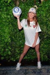 Summer Monteys-Fullam Putting on cheeky display supporting England in the Euros