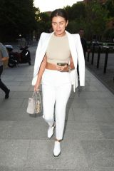 Montana Brown Arrives for 'Loki' TV Show Premiere at Tate Modern, London