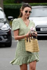 Michelle Keegan Out and about in Cheshire
