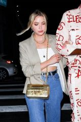 Ashley Benson Arrives at Carter Gregory's birthday party at 40 Love in West Hollywood