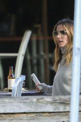 Elsa Pataky At Bay's Roadhouse cafe in Byron