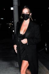Emily Lafitte Grabbing dinner at Catch LA in West Hollywood
