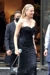 Pixie Lott Pictured departing her hotel in Rome