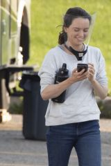 Daisy Ridley At the set of The Marsh King's Daughter in Toronto