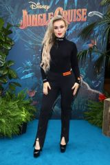 """Tallia Storm Attends Disney's """"Jungle Cruise"""" family screening in London"""