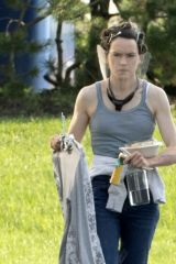 Daisy Ridley Filming The Marsh King's Daughter in Toronto