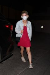 Kate Mara Leaving the Craig's restaurant in West Hollywood