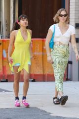 Rowan Blanchard All smile after lunch in Manhattan's Soho Area