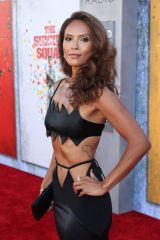 Lesley-Ann Brandt Attending the premiere of The Suicide Squad in Los Angeles