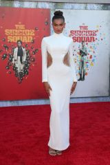 Kelly Gale At Los Angeles Premiere of 'The Suicide Squad' held at the Regency Village Theatre in Westwood