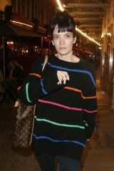 Lily Allen Seen in the West End, London