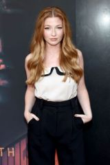 """Diana Hopper Attends the Los Angeles Premiere of """"Aftermath"""" at The Landmark Westwood in Los Angeles"""