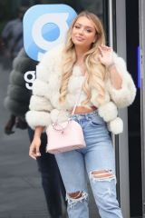 Lucinda Strafford Arrives at Capital Radio Sshow in London