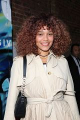 Izzy Bizu Pictured attending the launch of Van Gogh: The Immersive Experience in London