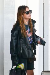 Ashley Benson Arrives at miami's airport ready for take off a day after shooting a project in the city