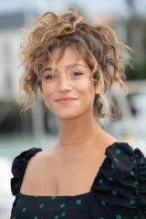 Manon Azem At Boomer Photocall during the 23rd TV Fiction Festival at La Rochelle