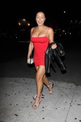 Shantel Jackson Arrives at The Nice Guy to celebrate Jordyn's birthday in West Hollywod